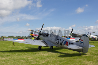 Oostwold, Netherlands May 25, 2015: Dutch Spitfire Oostwold Airshow