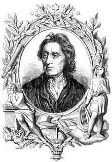 John Locke, 1632 - 1704, an English philosopher