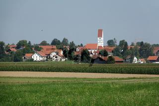 Blick nach Schwifting, Bayern