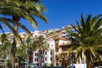 Ansicht von San Sebastián auf La Gomera