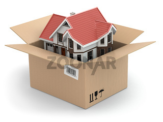 Moving house. Real estate market