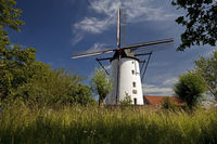Braun's mill, Kaarst, Lower Rhine, North Rhine-Westphalia, Germany, Europe
