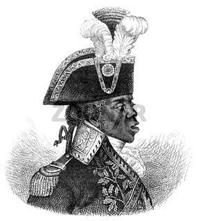 Toussaint L'Ouverture 1743 - 1803, Haitian national hero