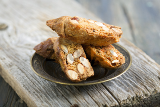 Biscotti with Almonds.