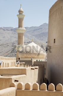Fort and mosque Nizwa