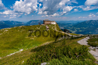 Mountain tour on the Watzmann