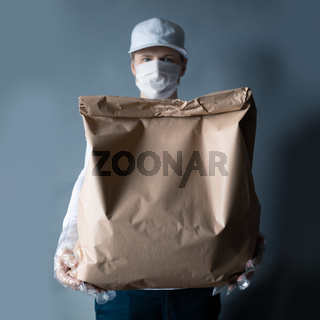 Safe food delivery during coronavirus