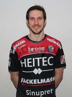 deutscher Handballer Michael Haaß HC Erlangen Liqui Moly HBL Handball-Bundesliga Saison 2019-20