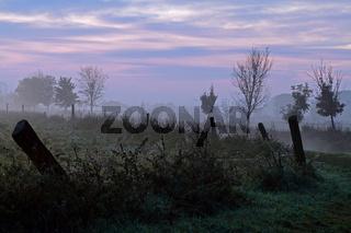 Morgengrauen in Brandenburg