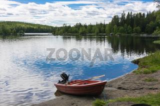 Boot idyllisch gelegen