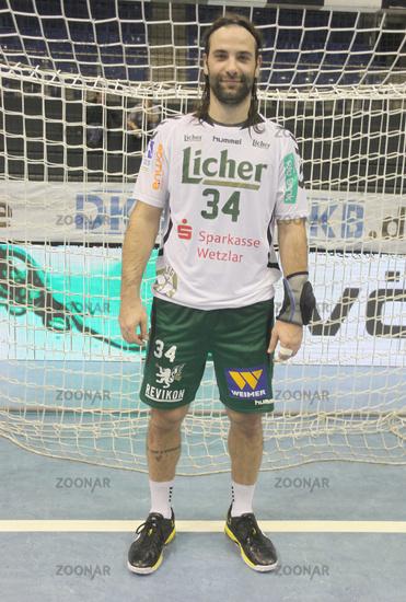 Croatian handball player Ivano Balic HSG Wetzlar DHB HBL DKB Handball Bundesliga season 2013-14