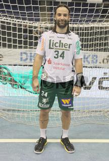 kroatischer Handballer Ivano Balic HSG Wetzlar DHB HBL DKB Handball-Bundesliga Saison 2013-14