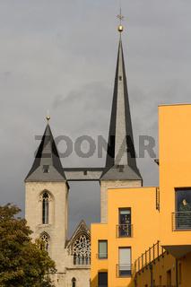 Blick zum Halberstädter Dom