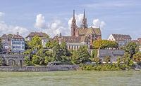 Altstadt und Münster Basel, Schweiz