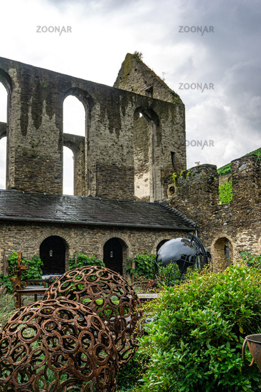 An old ruin of a monastry
