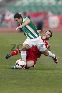 Ferencvaros vs. Debreceni VSC OTP Bank League football match