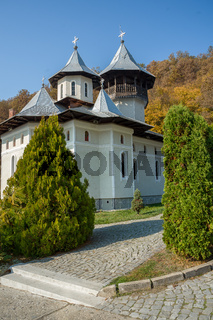 A view of the Vaca monastery