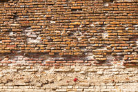 medieval brick wall texture