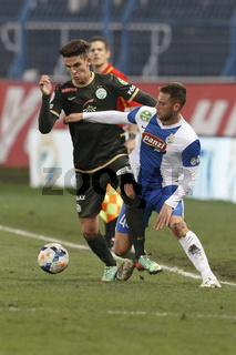 MTK Budapest vs. Ferencvaros OTP Bank League football match