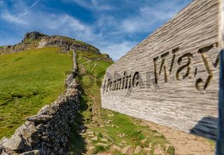 Sign: Pennine Way