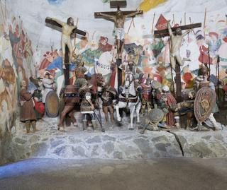 Die Kreuzigung Gaudenzio Ferrari,  Varallo