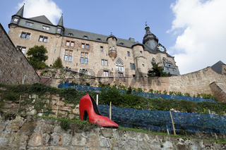 Cinderella's slipper, Marburg Castle, Germany, Europe