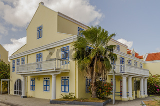 Mansion House In Willemstad Curacao
