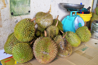 Durian on sale