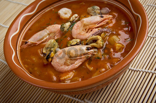 Cioppino is a fish stew