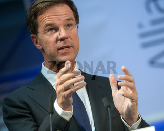 '8 Berlin speech at the Brandenburg Gate to Freedom ' with Netherlands Prime Minister Rutte