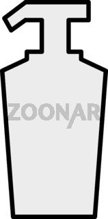 Hand Sanitizer Bottle Vector