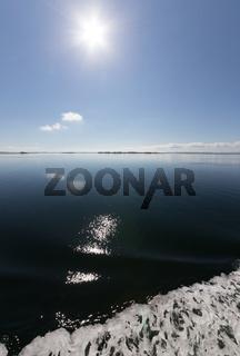 Ostsee spiegelt