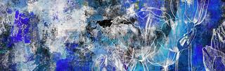 tulpen zeichnung malerei blumen trauer konzept karte