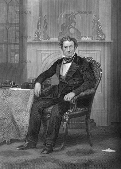 Rufus Choate, 1799 - 1859, an American lawyer