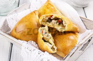 samosa with chicken