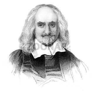 Thomas Hobbes of Malmesbury, 1588-1679, an English philosopher