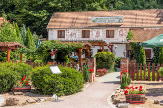 Valley of the beautiful Woman with wine cellars, Eger Hungary