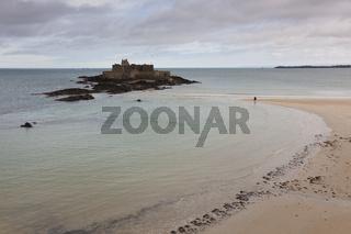 Fortress in Saint Malo, Bretagne, France