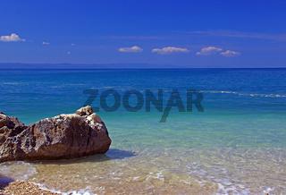 Wunderbarer Strand nahe Makarska