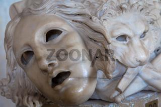 Ancient theatre mask