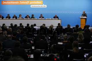 CDU and Merkel discussed the coalition contract in Berlin