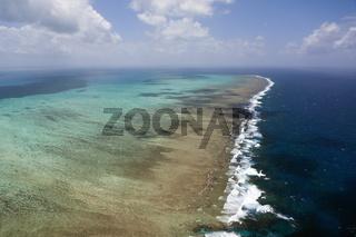 Luftaufnahme Grosses Barriere Riff, Australien