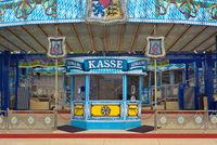 Amusement Ticket Window in German
