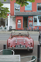 MG MGA 1600 at the front of The Galley restaurant in Woddbridge