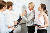 Consultant bei Beratung von Business Team