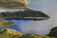 Peninsula on Lagoa do Fogo, San Miguel island