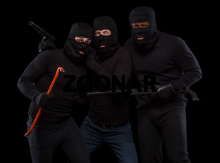 Thieves in masks