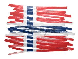 Flag illustration - Norway