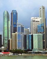 Rainy Singapore