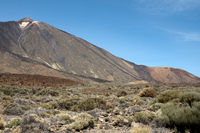 Volcano Pico del Teide on the Canary island of Tenerife